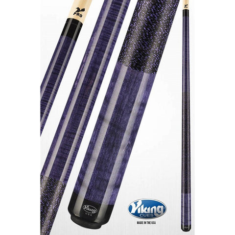 Viking Pool Cues - A249 - Curly Maple - V Pro Shaft - ABSOLUTE CUES