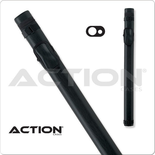 Action Pool Cue Case - AC11 - 1x1 - Hard Cue Case black - absolute cues