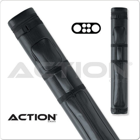 Action Pool Cue Case - 2x4 - AC24 Black - Hard Cue Case - absolute cues