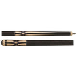 Action Pool Cues - Exotic Series - ACT140 - Burgundy Stain - absolute cues
