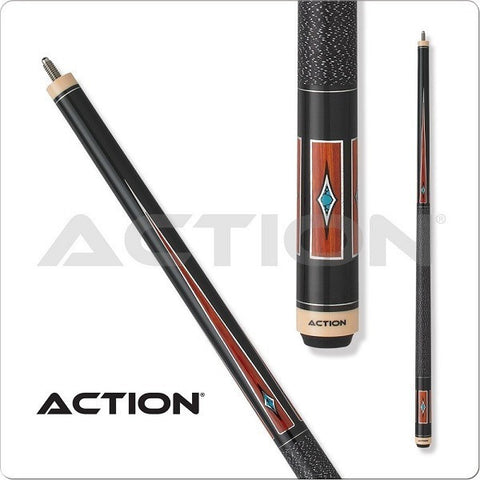 Action Pool Cues - Exotic Series - ACT141 - Cocobolo With Wrap - absolute cues