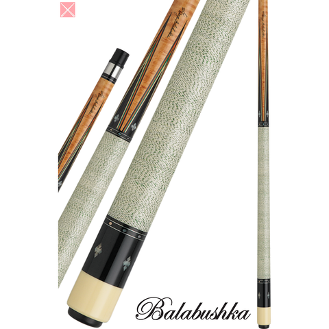 George Balabushka Pool Cues - GB SERIES - GB21 - Balabushka Signature - absolute cues
