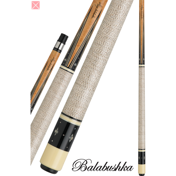 George Balabushka Pool Cues - GB SERIES - GB22 - Balabushka Signature - absolute cues