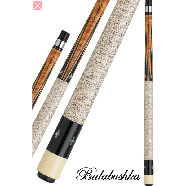 George Balabushka Pool Cues - GB SERIES - GB3 - Balabushka Signature - absolute cues