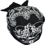 free 8 ball mafia bandanna if selected - absolute cues