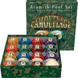 Aramith Billiards Balls - BBCAM - Camouflage Ball Set - absolute cues
