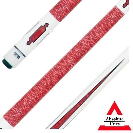 Blaze Model VR-1RD Red Pool Cue - absolute cues