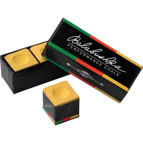 Balabushka Performance Chalk - Billiards Chalk - 3 Piece Box - absolute cues