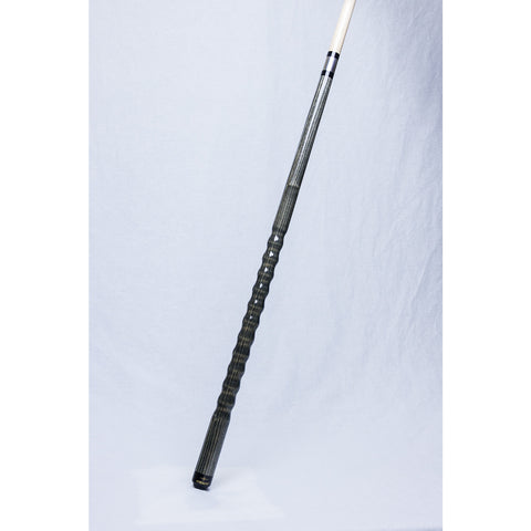 Stealth Pool Cue - Ergonomic, DH-4-G, Zebrawood Dooley Handle 19oz - absolute cues