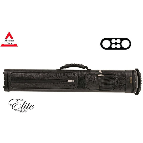Elite Pool Cue Case - 2x4 - Precision Hard Cue Case black