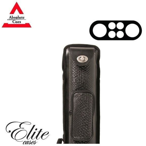 Elite Pool Cue Case - 2x4 - Nexus Reserve Hard Cue Case - absolute cues