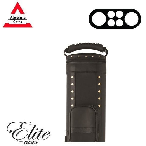 Elite Pool Cue Case - 2x4 - Prime Black Hard Cue Case - absolute cues