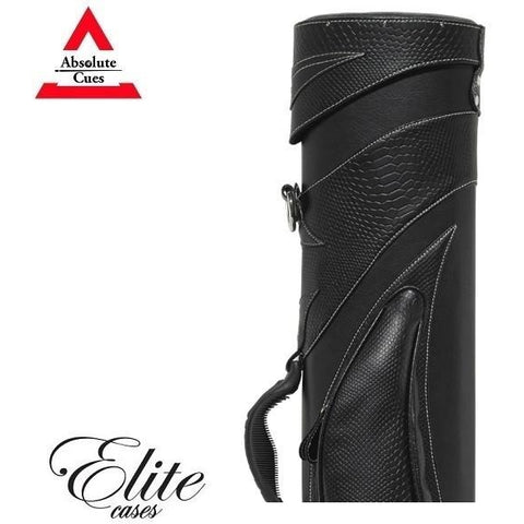 Elite Pool Cue Case - 3x5 -Saddle Bag Hard Cue Case - absolute cues