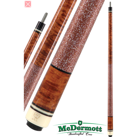 McDermott Pool Cue - G-Series, G204, G-Core Shaft, Cherry Stain W/Wrap - absolute cues