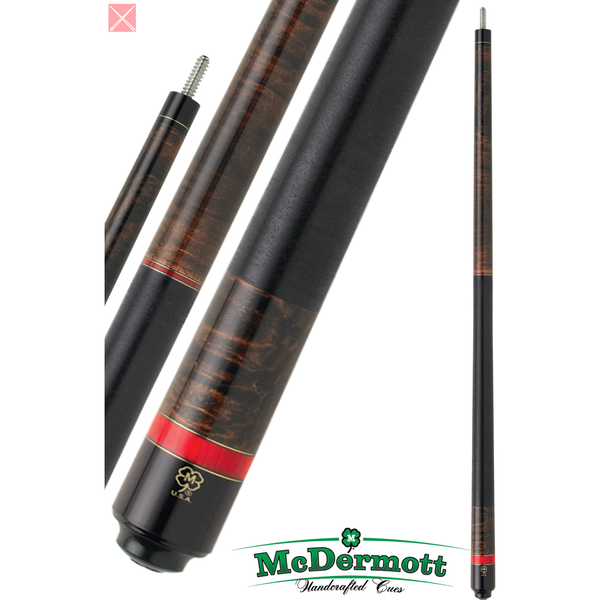 McDermott Pool Cue - G-Series, G209, G-Core Shaft, Black Wrap - absolute cues