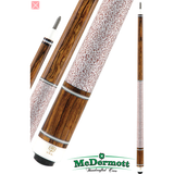 McDermott Pool Cue - G-Series, G224, G-Core Shaft, Bocote W/Wrap - absolute cues