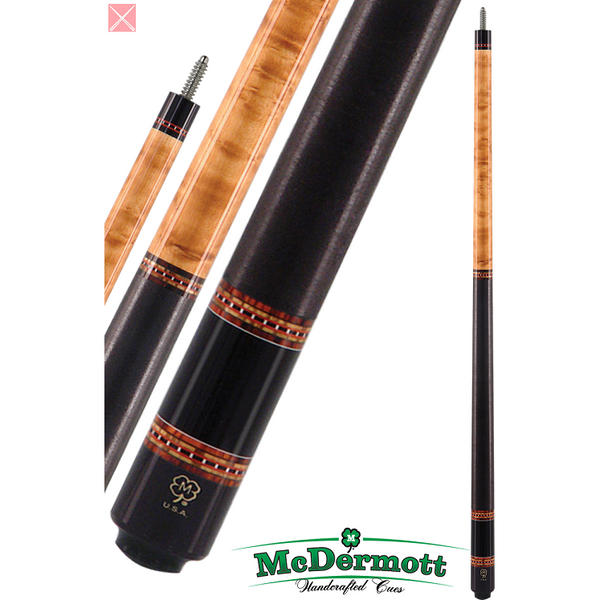 McDermott Pool Cue - G-Series, G225, G-Core Shaft, Walnut W/Wrap - ABSOLUTE CUES