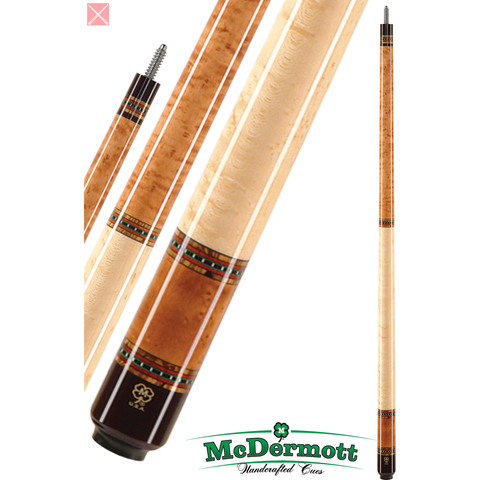 McDermott Pool Cue - G-Series, G229, G-Core Shaft, American Cherry - absolute cues