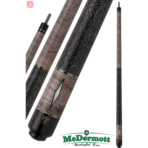 McDermott Pool Cue - G-Series, G302, G-Core Shaft, Grey Stain - absolute cues