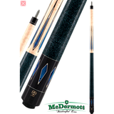 McDermott Pool Cue - G-Series, G324, G-Core Shaft, Blue Pearls - absolute cues