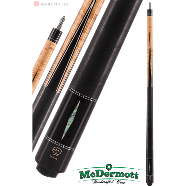 McDermott Pool Cue - G-Series, G405, G-Core Shaft, Natural Stain - absolute cues
