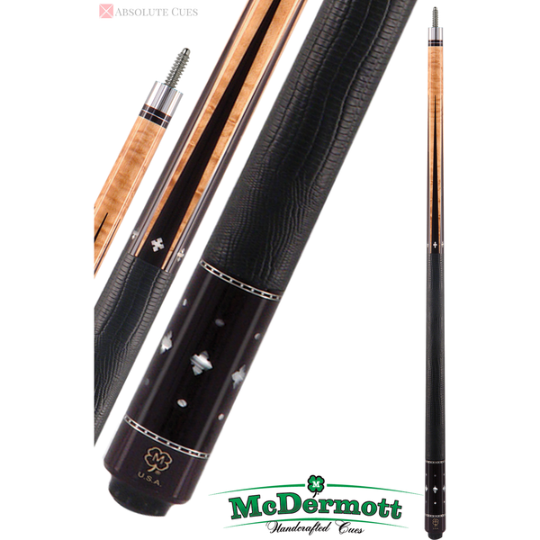 McDermott Pool Cue - G-Series, G502, G-Core Shaft, Pearl Inlays - absolute cues