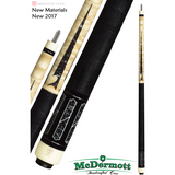 McDermott Pool Cue - G-Series, G511, G-Core Shaft, Black Urethane - absolute cues