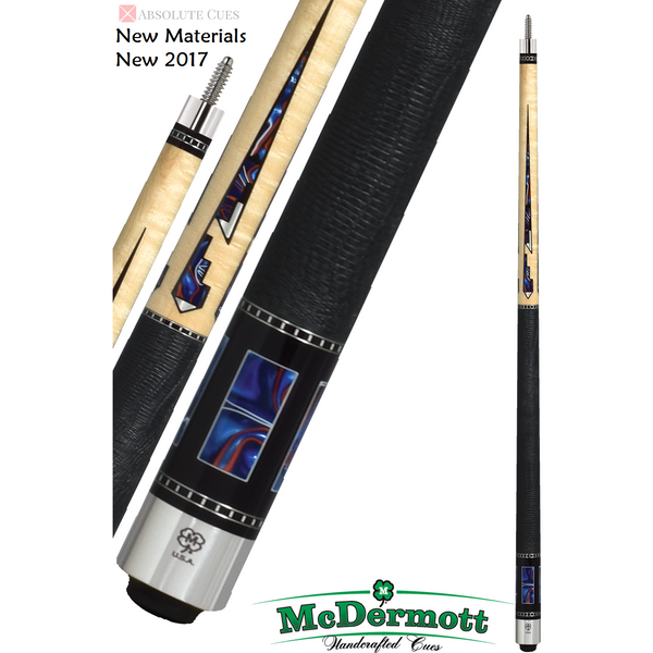 McDermott Pool Cue - G-Series, G609, G-Core Shaft, Pearlite Panes - absolute cues