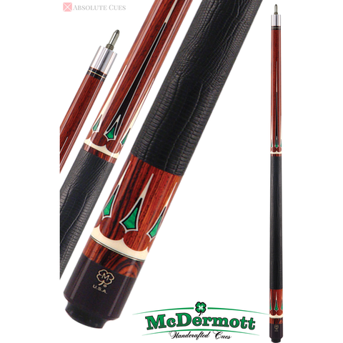 McDermott Pool Cue - G-Series, G706, Intimidator I-2 Shaft, Inlays - absolute cues