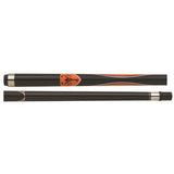 Scorpion Pool Cues - Sports Grip - GRP03 - Scorpion Orange Design - absolute cues