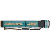 J. Flowers Pool Cue Case - JFC03 - 2x4 Pool Cue Case - Flowers - absolute cues
