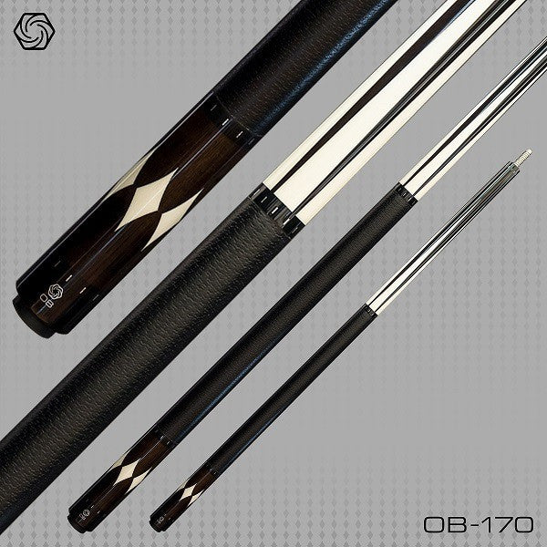 OB Pool Cues - OB-170 - Micarta Points - OB+ Shaft - Low Deflection - absolute cues