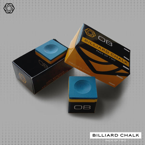 2 Display Boxes of OB Chalk - 96 cubes total - Premium Billiards Chalk - absolute cues
