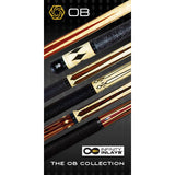 OB Pool Cues -OB-129 -Cocobolo No Wrap -OB+ Shaft -Low Deflection