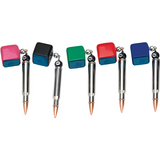 free bullet chalk holder if selected - absolute cues