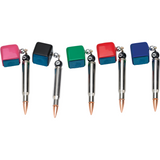 free bullet chalk holder with purchase if selected - absolute cues