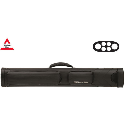 QK-S - 2x4 - Samurai Hard Pool Cue Case black - absolute cues