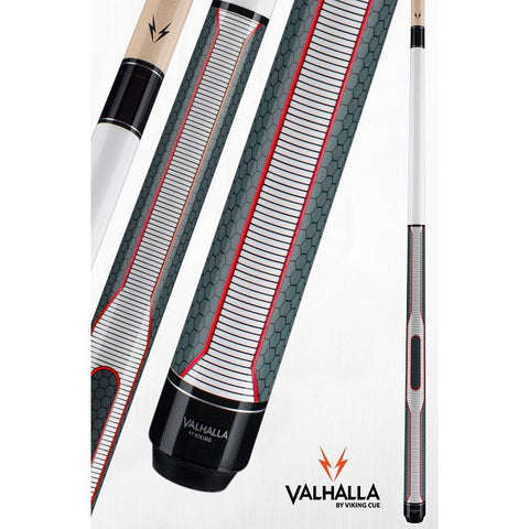 Valhalla Pool Cue - VA461 - By Viking Cues - Linen Wrap - HD Graphic - absolute cues