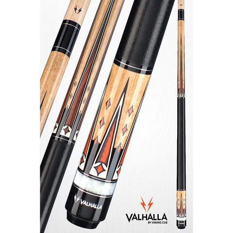 Valhalla Pool Cues - VA702 - By Viking Cues - Linen Wrap - Free Case - absolute cues