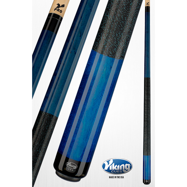 Viking Pool Cue A227 - Quick Release Joint & Linen Wrap - V Pro Shaft - absolute cues