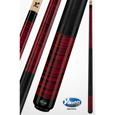 Quick Release Joint & Linen Wrap - V Pro Shaft - Viking Pool Cue A242 - absolute cues