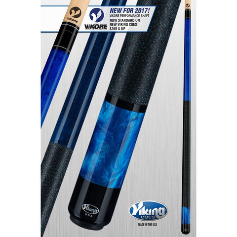 Viking Pool Cue A281 - With ViKORE Performance Shaft & Wrap - absolute cues