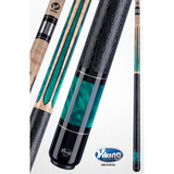 Viking Pool Cue - Green Pearl - Khaki - A577 -ViKORE Performance Shaft