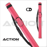Action Pool Cue Case - AC11 - 1x1 - Hard Cue Case pink - absolute cues