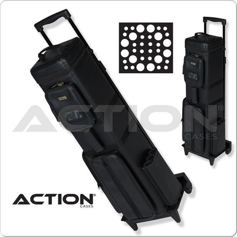 Action Pool Cue Case - AC1224 - 12x24 - Traveling Dealer Case - absolute cues