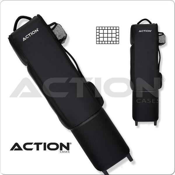 Action Dealer Pool Cue Case 12x24 Acdc Backpack Cue