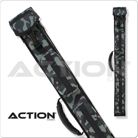Action Pool Cue Case - 2x3 - ACGI23 - Army Green Hard Cue Case - absolute cues