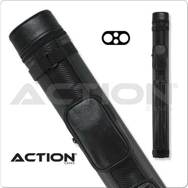 Action pool cue case acn22 2x2 ballistic hard cue - Action pool cue cases ...