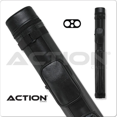 Action Pool Cue Case - ACN22 - 2x2 - Ballistic Hard Cue Case - absolute cues