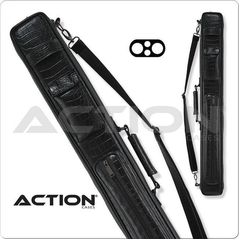 Action Pool Cue Case - ACSC09 - 2x2 - Leatherette Soft Cue Case - absolute cues